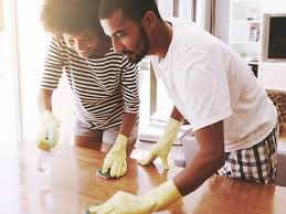 spring-cleaning-couple-in-Charlotte-NC